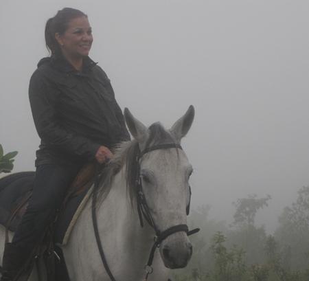 Rideronhorsesinboquete